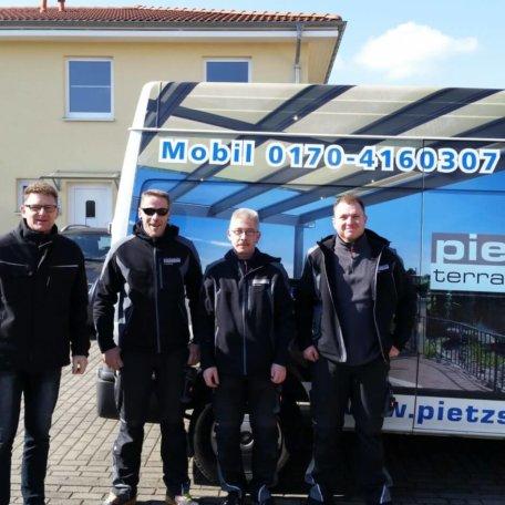 pietzsch terrassenwelten team, Montageteam
