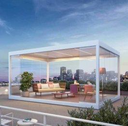 30 m² Luxus- Terrassenpavillon