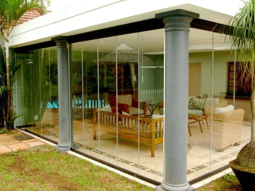 Glas-Faltwand Sunflex 25