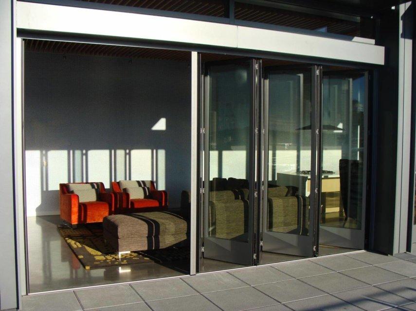 Glas-Faltwand Sunflex 55