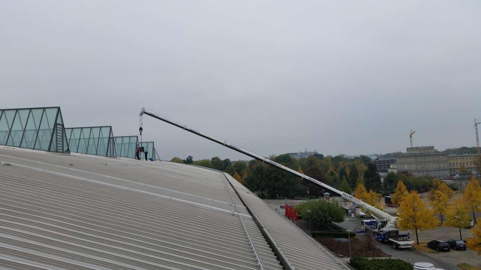 Glas Wartungen Und Glas Reparaturen An Dachfl Chen