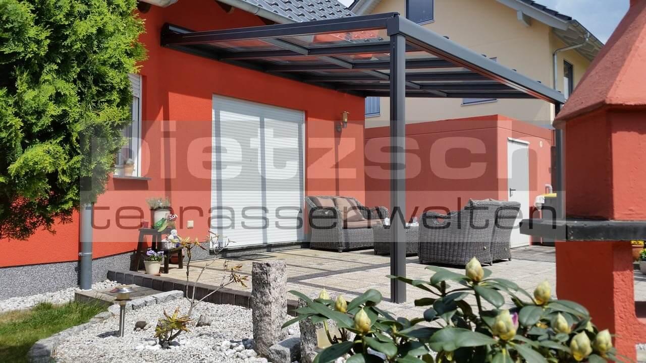 Terrassenüberdachung, TERRADO GP5100, Kaltwintergarten, Sommergarten