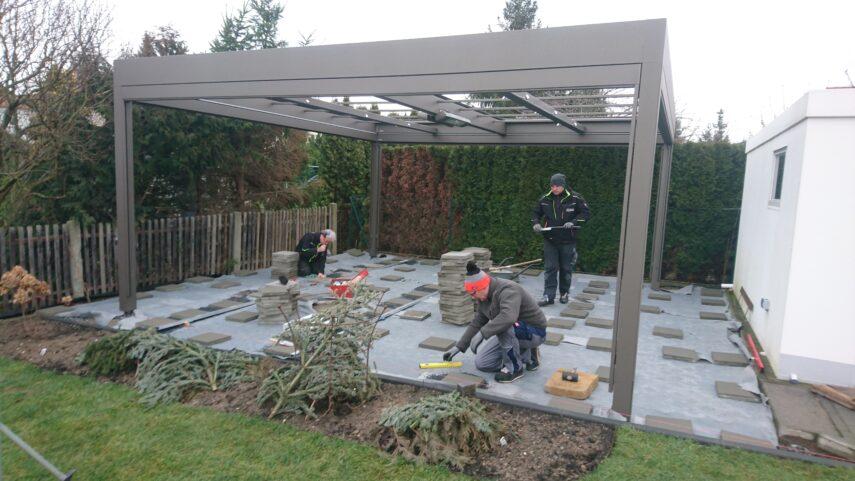 Terrassenpavillon MX Markant